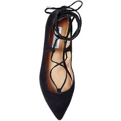 Steve Madden Women's Lecrew Flats (4.600 RUB) ❤ liked on Polyvore featuring shoes, flats, pointed toe ballet flats, steve madden flats, pointed-toe flats, steve madden and pointy-toe flats