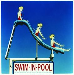 Swim-in-Pool by Richard Heeps  Courtesy of Bleach Box Photography Gallery