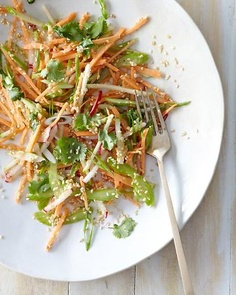 Sweet Potato, Celery, and Apple Salad - another favorite from the cleanse - the crunch is so satisfying!