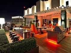 Patio Rooftop Deck Design, Pictures, Remodel, Decor and Ideas Decks, Patio Design, House Design, Terrace Design, Rooftop Design, Backyard Designs, Indoor Outdoor, Outdoor Living, Outdoor Bars