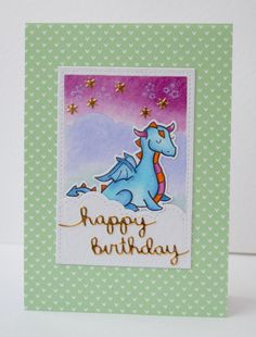 InvisiblePinkCards: Birthday card using Lawn Fawn Critters Ever after and Let's Polka Mon Amie Paper with Puffy Cloud dies. Mama Elephant, Handmade Birthday Cards, Card Making Inspiration, Lawn Fawn, Kids Cards, Birthday Celebration, Cardmaking, Projects To Try, Happy Birthday