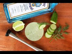 Cucumber Dill Gin Collins - Cooking for Bimbos