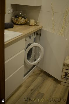 Od projektu do realizacji łazienki w stylu skandynawskiej - Łazienka, styl skandynawski - zdjęcie od MKsmartstudio