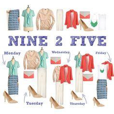 NINE 2 FIVE - Tangerine Tango