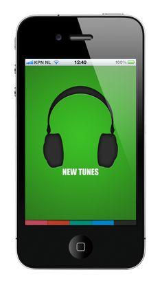 New Tunes a iPhone & iPad app