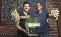 Back to the Roots: A Simple Way to Turn Waste Into Food.
