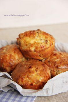 Muffin, Baked Potato, Pizza, Potatoes, Baking, Breakfast, Ethnic Recipes, Food, Morning Coffee