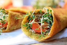 Frische Sprossen on Pinterest | Rezepte, Bagels and Vegans