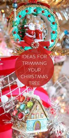 Ideas for Trimming Your Christmas Tree | holiday decorating ideas