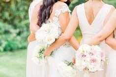 Blush bridesmaids dresses Blush Bridesmaid Dresses, Bridesmaid Outfit, Bridesmaids, Wedding Dress Sleeves, Wedding Gowns, Dresses With Sleeves, Phoenix Wedding Photographer, Arizona Wedding, Best Wedding Photographers