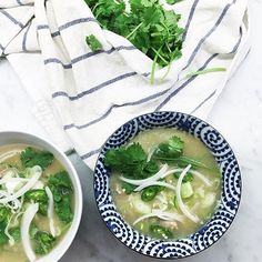Reader @omassov made a big pot of @elizabethstreetcafe's chicken and rice soup from our October issue. Topping it with some raw onion, scallion, and cilantro takes this classic to whole new level. Find the recipe at the link in our bio.