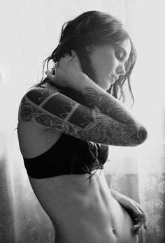 Tattoo #inked Girl