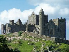 The Rock of Cashel. The most disappointing part of our trip. We stayed in Cashel so we could see the fort, but there is so much scaffolding around the fort that you really can't get a nice photo of it. Plus Cormac Chapel was closed for renovations. Real Bummer.