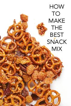 Think outside the bag and make your own sweet and spicy snack mix with this easy and delicious recipe. #BiteMeMore www.bitememore.com