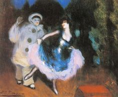 Picasso Pierrot