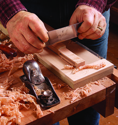 Be sure to catch our interview with furniture maker Mike Pekovich and learn how he transformed the traditional cabriole leg into a modern masterpiece: http://tinyurl.com/pepsn3g