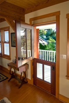 Love this door for the kitchen to go out to the deck!