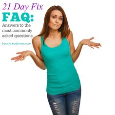 Answers to your most pressing 21 Day Fix questions #21DayFix #21DFX