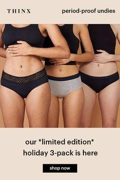 f4dc774587f  Thinx All Star Set - Innovative high tech ultra-absorbent no flow underwear
