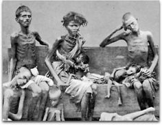 """I hate Indians. They are a beastly people with a beastly religion."" - Winston Churchill. The Bengal famine of 1943 has been called a man-made holocaust, wherein between 3 and 4 Million people starved to death due in large part to Churchill's well-documented hatred towards the English colony he controlled.  He diverted wheat from Australia and declined food offers from the U.S. and Canada to intentionally starve the colony he knew England was about to lose to independence."