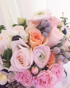 awesome vancouver florist A very feminine and romantic colour bouquet @balconifloral #garsenrose #hanoi #ranunculus #sprayroses #anemones #brunia #valentineday #valentineflower #vancitybuzz by @balconifloral  #vancouverflorist #vancouverflorist #vancouverwedding #vancouverweddingdosanddonts