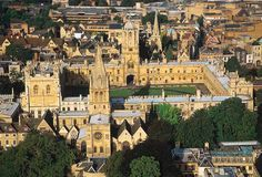Oxford University - because I've always loved old English literature :)