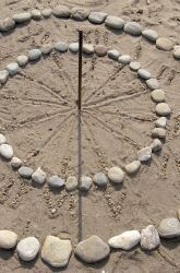 Make a Sundial with your children such a simple and fun project!