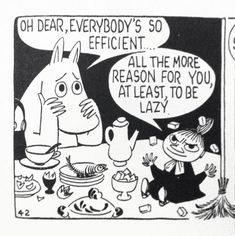Moomin comic strips by Tove Jansson Illustrations, Illustration Art, Les Moomins, Moomin Valley, Tove Jansson, Oui Oui, Grafik Design, Art Google, Comic Strips