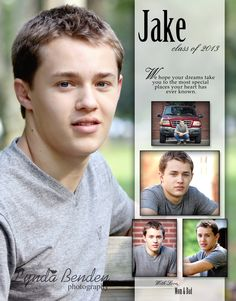 Senior Yearbook Ad Template Designs For