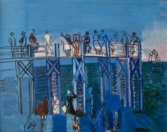 L'estacade Le Havre - Raoul Dufy