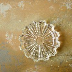 Hazel Atlas Ashtray, One 5 1/2 Inch Clear Fluted Glass Stacking Nesting Vintage Ashtray, 1930s Tobacciana Cigar Cigarette Ashtray by viAnneli on Etsy