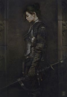 ArtStation - The Squire, Eve Ventrue