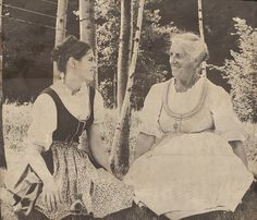 Maria von Trapp and Agathe von Trapp Oldest daughter in real 'Sound of Music' family