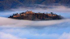 Le chateau Takeda au Japon, un chateau flottant dans les nuages   chateau takeda japon chateau dans les nuages 3