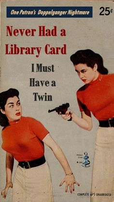 pulpfiction about library | Professional Library Literature: Never had a library card. I must have ...