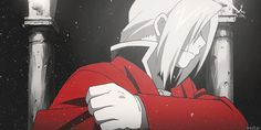 Possibly my favourite FMA Brotherhood GIF of all time.   When this happens, you know shit's gonna go down... Hard.