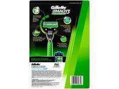 Carga Gillette Mach3 Sensitive - 16 Cargas com as melhores condições você encontra no Magazine Raimundogarcia. Confira!