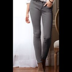 ✨HPx2✨ VS mid rise siren corduroys Dark gray mid rise corduroys. Wore one time and in great condition. 98% cotton 2% elastane Victoria's Secret Pants