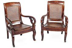Antique Child's Chairs, Pair on OneKingsLane.com