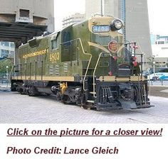 Canadian National No. 7803 High-nose as it exists today at the museum Canadian National Railway, National Railways, Locomotive Engine, Historical Association, Travel Ads, Railway Museum, Train Pictures, Train Journey