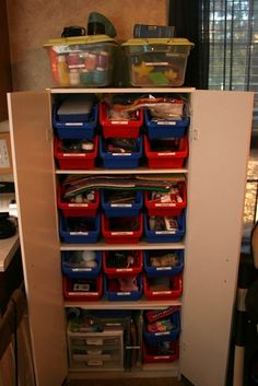 Featured for Organizing Homeschool Supplies on The Happy Housewife (March 8, 2012)