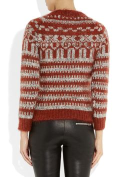 Étoile Isabel Marant | Gladys mohair and wool-blend sweater | NET-A-PORTER.COM