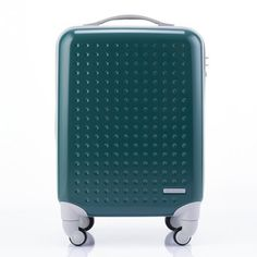 Teal luggage