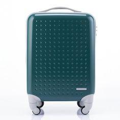 Teal luggage