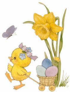 . Free Applique Patterns, April Easter, Easter Pictures, Hoppy Easter, Vintage Easter, Bible Art, Creative Cards, Vintage Cards, Easter Crafts