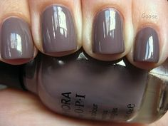 my all time favorite color - Sephora by OPI - metro chic nail polish