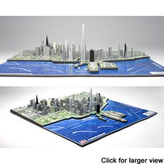 Chicago 4D city'scape Puzzle - this might actually be worth something in the future because it has the ill-fated Chicago Spire that will never be built.