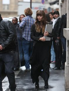 Jessica Biel goes shopping at Jean Paul #Gaultier boutique in #Paris, France on October 8, 2012.