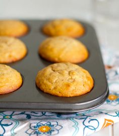 Peanut Butter and Honey Muffins - These look and sound delicious. Can't wait to try them!