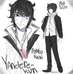 [YS] Yandere-kun/Ayato Aishi - my vers by SayaDesu